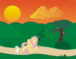 An Evening Song by AlextheArtsy