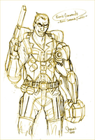 Bionic Commando MVC3 Sketch by LukeLlenroc
