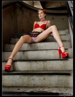 carly on the steps by scottchurch