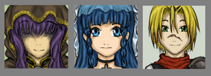 Legends Of Ramaria: Icons by LadyVentuswill