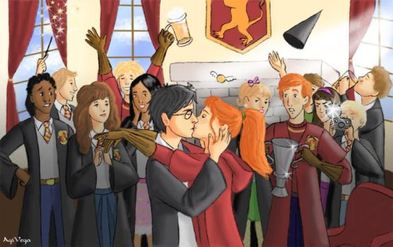 HBP - Quidditch victory by AgiVega