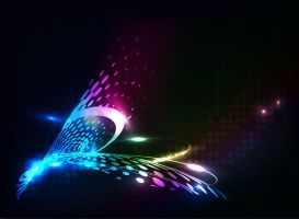 Abstract-Colorful-Dots by vectorbackgrounds