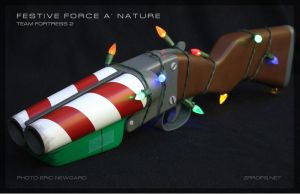 Team Fortress 2 Festive Force a' Nature prop by zanderwitaz