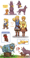 FFV dog bonus by emlan