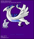 Lugia Journal Skin by AbyssinChaos