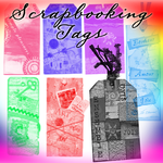 Scrapbooking Tags by Saphiira-Stock