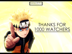 Thanks for 1000 Watchers! by Kortrex