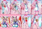 Plush Pink Easter Bunny Suit (Kyo) by macguffin78