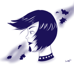 Blue Autumn by LuckyDragonfly