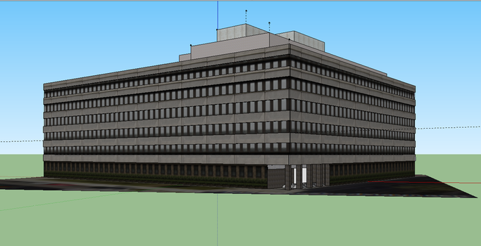 Prinz Ludwig Str Munich 3D by maroon83