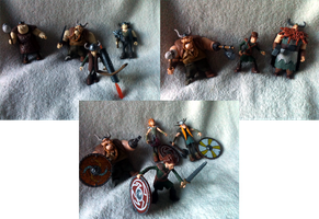HTTYD Viking Figures by Cheri-Bomb