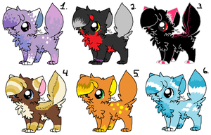 Adoptables batch 2 [2 LEFT] by mossyyadopts