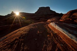 Sandstone Sunrise by jamezevanz