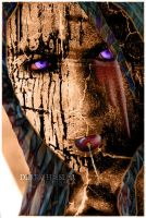 TERROR FACE WITH TEXTURES by FALLEN-ANGEL-F