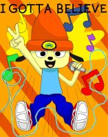 Parappa the Rapper by doodle-guy7