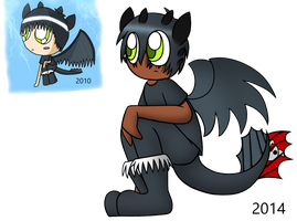 Human Toothless by PuccaFanGirl