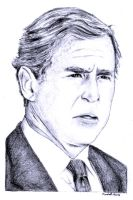 President Bush by FlashElectron