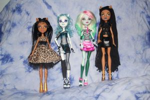 new group of dolls by rainbow1977