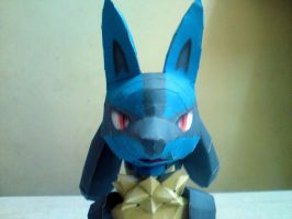 Lucario WIP 1 by riolushinx