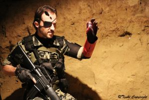 Metal Gear Solid V Punished Snake Cosplay by GH-FORGE