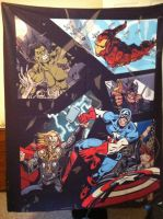 Avengers Blanket by Kaytes-Blanket-Sets