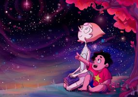 Pearl and Steven by Itzitxou