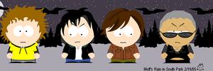Wolf's Rain in South Park by Bad-Dog-No-Biscuits