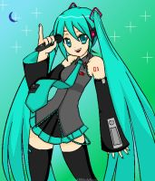 Hatsune Miku by Kill-Bloody-Rosesxxx