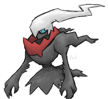 Darkrai by paalomita
