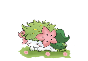 Shaymin by Fawnan