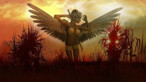 The warrior angel by BrotherGuy