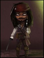 Prize:. Captain Jack Sparrow by Magic-Ray