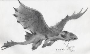 Toothless by JoAsia9