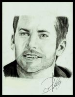 R.I.P PAUL WALKER by zakValkyrie