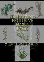 Exclusive Flora Pack by ED-resources