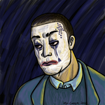 tragic clown Vic by my-canga
