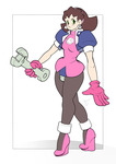 Tron Bonne Color Flats by AtomicTiki