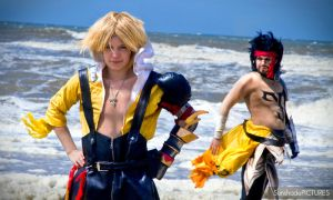 Tidus and Jekkt by SunshadePICTURES