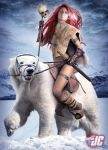Red Sonja: Queen of the Frozen Wastes by Jeffach