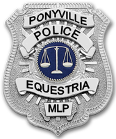 Ponyville Police Department Badge by Dorothy64116