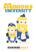 Minions University by SuryaSoo