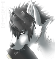 L - Death Note - by GoldenTigerDragon