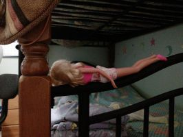 Barbie planking by Quacksquared