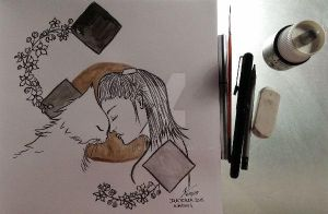 Inktober 2015 -day 4 by atsumimag