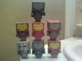 Ironman Cubee Collection by rubenimus21