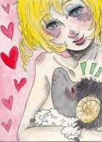 Catherine and Vincent the sheep by lunatic-love