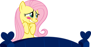 Fluttershy is Blushing by Yenshin