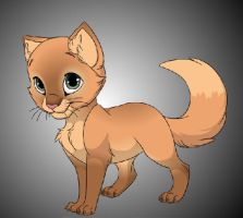 Kitten dA ID by pink-marshmallows