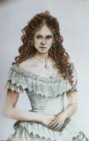 KATHERINE PIERCE by GentianaArts