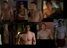 Angel Shirtless scenes Collage by slayerxy